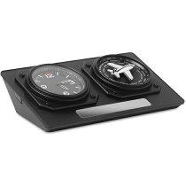 Reloj de sobremesa diseño personalizado negro