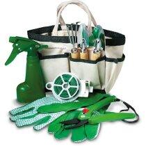 Kit de herramientas de jardín de 7 piezas personalizado beige