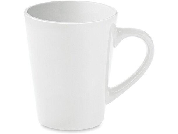 Taza Cerámica de Café 180 Ml   blanca