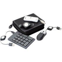 Pack de accesorios para ordenador personalizado negro