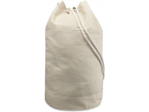 Bolsa petate de algodón beige