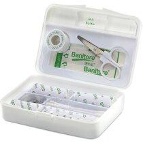 Botiquín de emergencia de plástico personalizado blanco