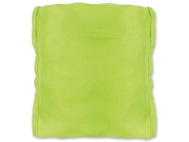 Funda protectora de lluvia personalizada verde fluorescente