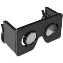 Gafas de realidad virtual plegables personalizada negra