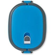Fiambrera con la tapa hermética personalizada azul claro