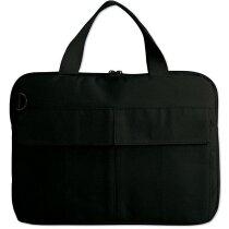 Bolsa para transportar ordenador portátil personalizada negra