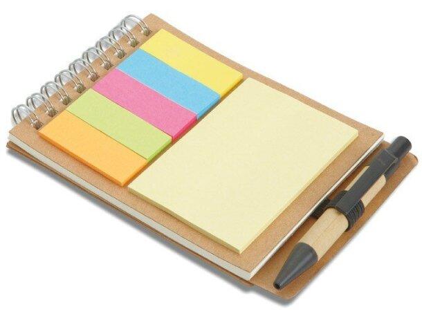 Libreta con kit de notas adhesivas personalizado barata