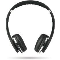 Cascos para música con bluetooth plegables negro