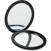Espejo doble redodndo merchandising negro