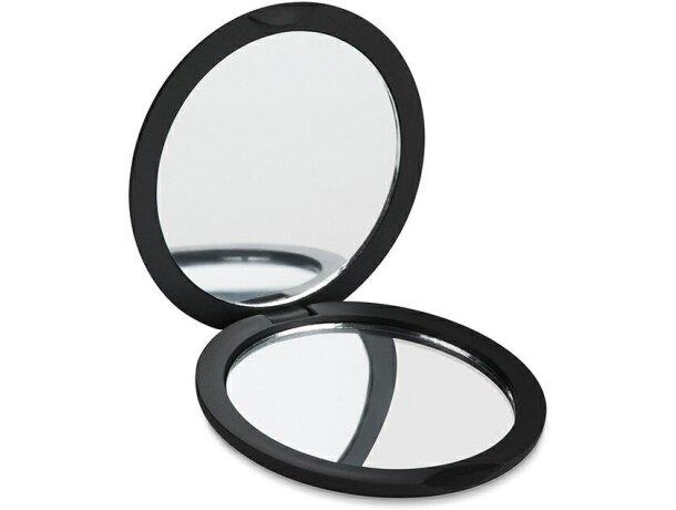 Espejo doble redodndo con logo