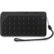 Altavoz rectangular con bluetooth personalizado negro