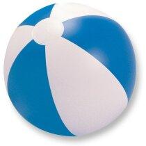 Balón clásico hinchable de playa azul