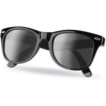 Gafas sol con protección uv personalizables negra