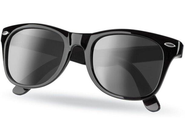 Gafas sol con protección uv negra personalizado