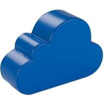 Antiestrés con forma de nube azul