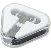 Cascos auriculares en caja personalizado negro