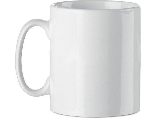 Taza de cerámica lisa para sublimacón a todo color personalizada