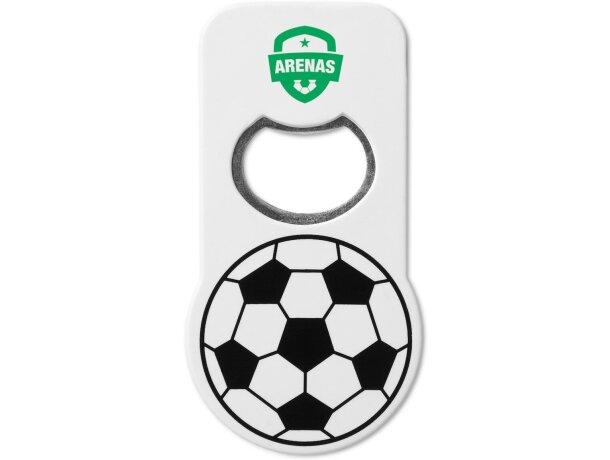 Abridor con detalles de fútbol