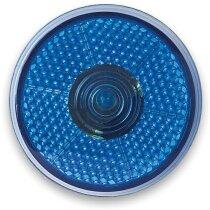 Luz led intermitente roja personalizado azul