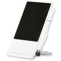 Soporte para smartphone con bolígrafo personalizado blanco
