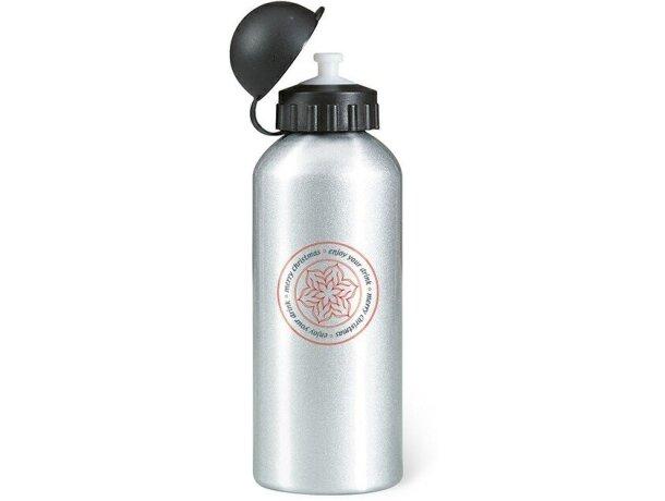 Bidón botella de metal 600 ml para empresas