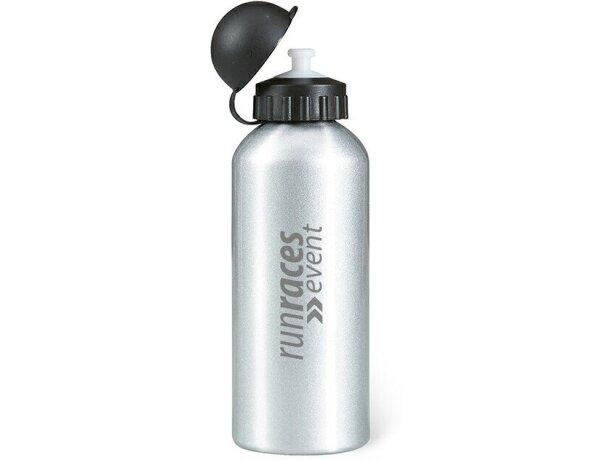Bidón botella de metal 600 ml personalizado