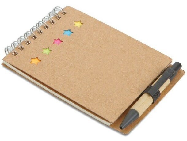 Libreta con kit de notas adhesivas