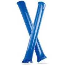 Palos para aplausos hinchables personalizado azul
