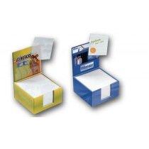 Cajas de notas forradas con frontal imantado personalizada
