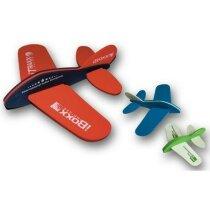 Avión de goma eva personalizado