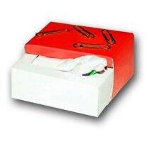 Caja imantada de clips y pañuelos personalizada