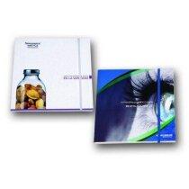 Cuaderno de fabricación especial con banda elástica y 80 hojas