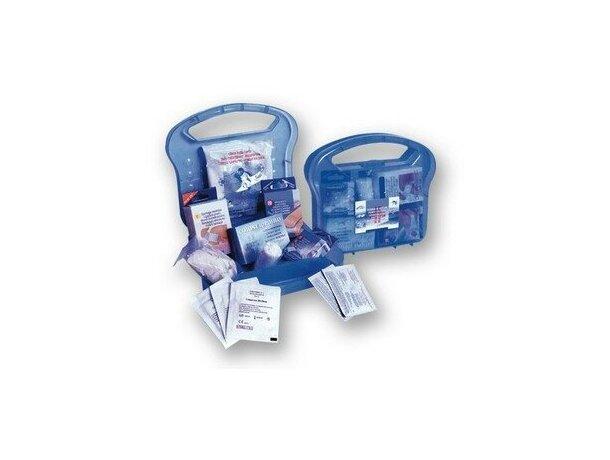 Botiquín de primeros auxilios en estuche de plástico personalizado