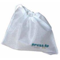 Bolsa de no tejido con cierre de cordón