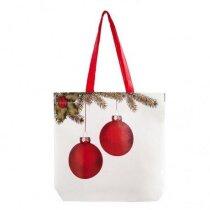 Bolsa laminada con dibujo de Navidad personalizada