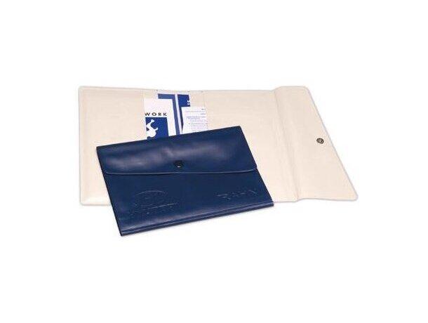 Portadocumentos de vinilo con 4 bolsillos personalizado