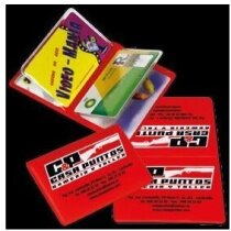Porta tarjetas doble personalizado