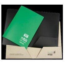Carpeta dossier con bolsillos personalizada