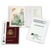 Funda para pasaporte en vinilo personalizada