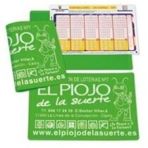 Funda de vinilo para loterias y apuestas personalizada