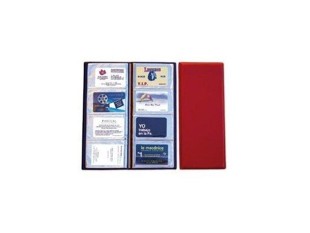 Tarjetero grande para 80 tarjetas en vinilo personalizado