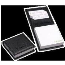 Porta notas con bloc y porta tarjetas personalizada