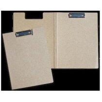 Carpeta de cartón con clip personalizada