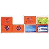 Funda para tarjetas en forma L personalizada