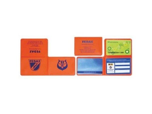 Funda para tarjetas en forma L merchandising