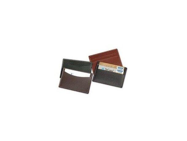 Funda porta tarjetas con 3 bolsillos personalizada