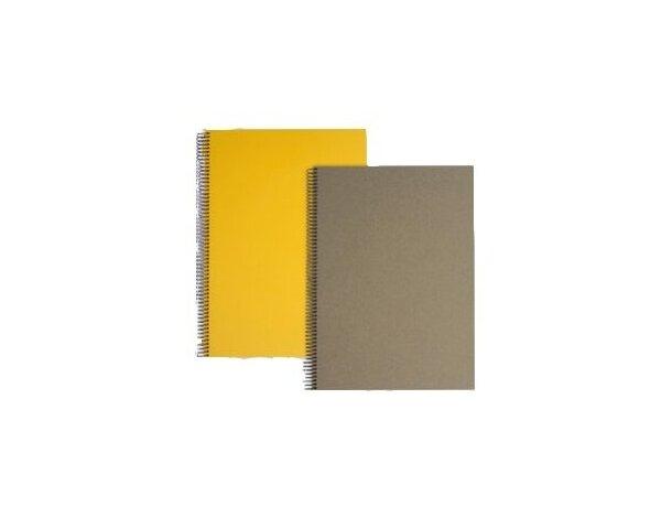 Libreta tamaño A5 sencilla con tapas de colores
