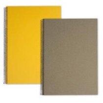 Libreta de 100 hojas con tapas de polipropileno personalizada