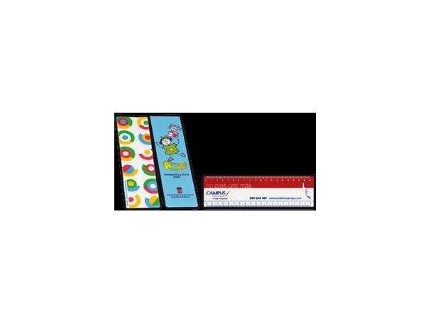 Regla de fabricación especial a todo color de 30 cm personalizada