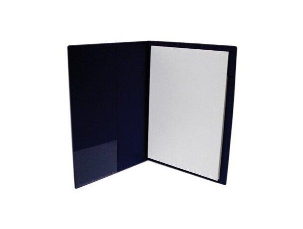 Carpeta de PVC con bolsillo interior personalizada